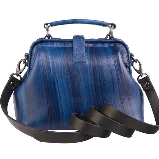 Женская маленькая сумка саквояж  - Premium от Alexander TS