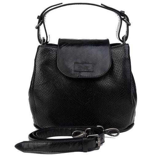 Женская сумка с имитацией под кожу змеи - Premium