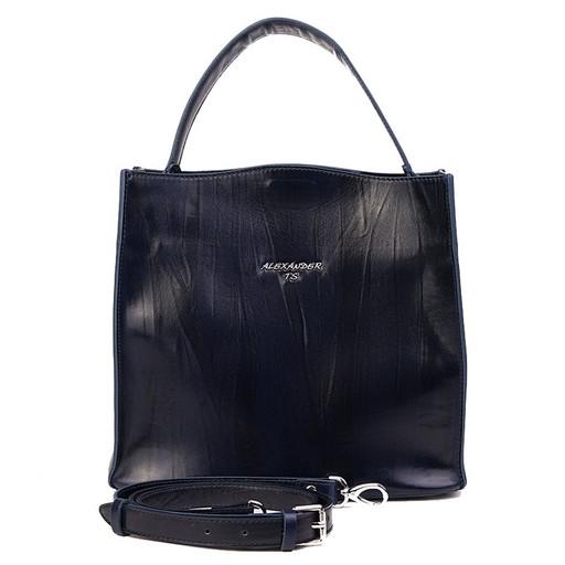 Женская сумка из натуральной, гладкой кожи - премиум класса