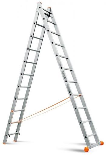 Двухсекционная лестница Классик 2х11 «Эйфель»