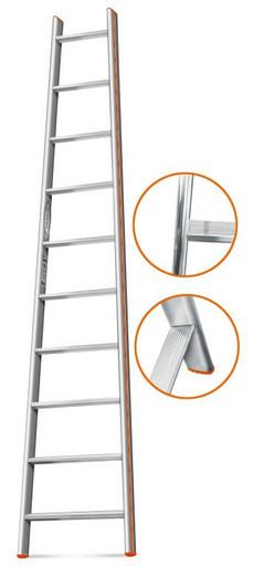 Приставная лестница Комфорт-Профи-Пирамида 9 ст. «Эйфель»