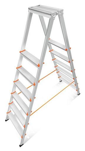Лестница-стремянка двусторонняя Мастер 80-206 «Эйфель»