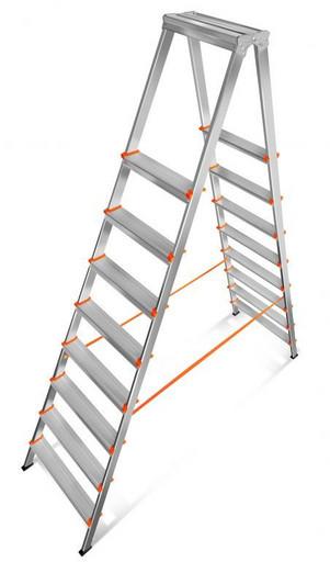 Лестница-стремянка двусторонняя Мастер 80-208 «Эйфель»