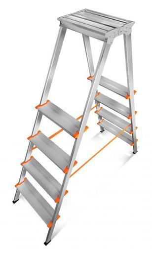 Лестница-стремянка двусторонняя Мастер 130-204 «Эйфель»