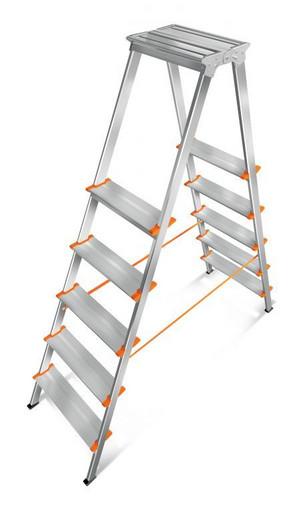 Лестница-стремянка двусторонняя Мастер 130-205 «Эйфель»