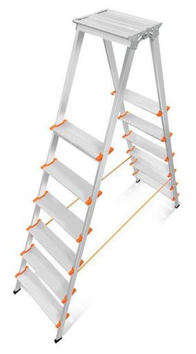 Лестница-стремянка двусторонняя Мастер 130-206 «Эйфель»