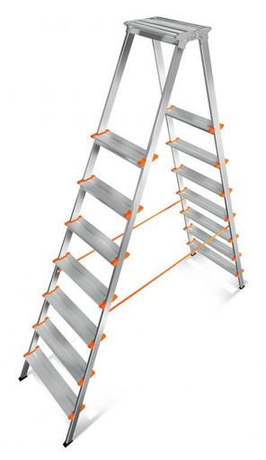 Лестница-стремянка двусторонняя Мастер 130-207 «Эйфель»