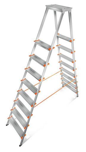 Лестница-стремянка двусторонняя Мастер 130-208 «Эйфель»
