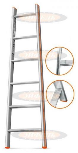 Приставная лестница Комфорт-Профи-Пирамида 6 ст. «Эйфель»