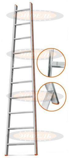 Приставная лестница Комфорт-Профи-Пирамида 10 ст. «Эйфель»