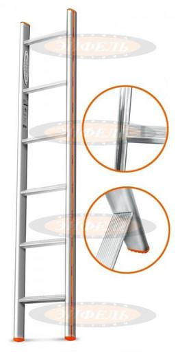 Приставная лестница Комфорт-Профи 6 ст. «Эйфель»