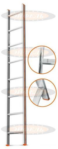Приставная лестница Комфорт-Профи 8 ст. «Эйфель»
