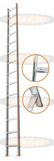 Приставная лестница Комфорт-Профи 14 ст. «Эйфель»