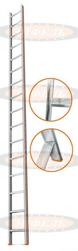 Приставная лестница Комфорт-Профи 16 ст. «Эйфель»