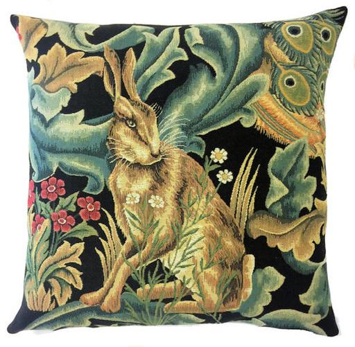Заяц (Уильям Моррис) - наволочка гобеленовая